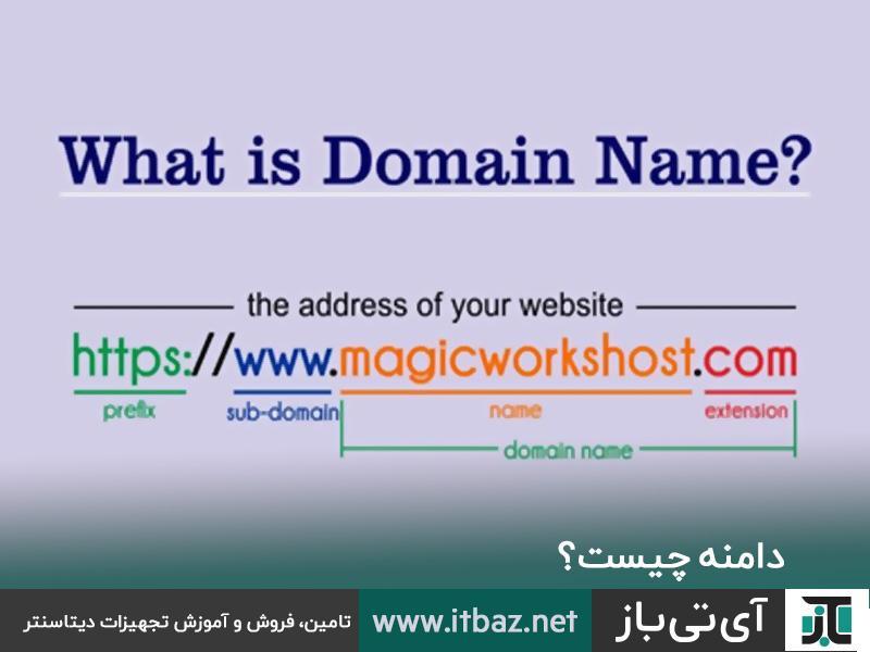 دامنه ، دامنه چیست؟ ، تعریف دامنه ،  Domain چیست؟