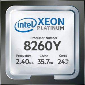 سی‌پی‌‌یو intel Xeon Platinum 8260Y ، مشخصات سی‌پی‌‌یو intel Xeon Platinum 8260Y ، خرید سی‌پی‌‌یو intel Xeon Platinum 8260Y ، قیمت سی‌پی‌‌یو intel Xeon Platinum 8260Y