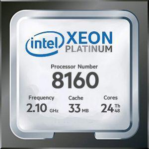 پردازنده intel Xeon Platinum 8160 ، مشخصات پردازنده intel Xeon Platinum 8160 ، خرید پردازنده intel Xeon Platinum 8160 ، قیمت پردازنده intel Xeon Platinum 8160