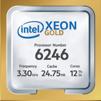 پردازنده intel Xeon Gold 6246 ، مشخصات پردازنده intel Xeon Gold 6246 ، خرید پردازنده intel Xeon Gold 6246 ، قیمت پردازنده intel Xeon Gold 6246