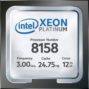 پردازنده intel Xeon Platinum 8158 ، مشخصات پردازنده intel Xeon Platinum 8158 ، خرید پردازنده intel Xeon Platinum 8158 ، قیمت پردازنده intel Xeon Platinum 8158