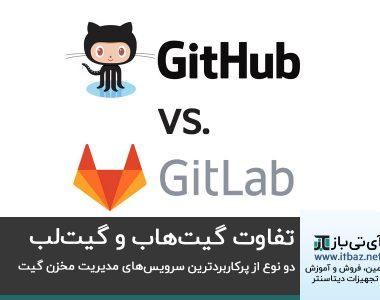 تفاوت گیت هاب و گیت لب ، دو نوع از پرکاربردترین سرویس های مدیریت مخزن گیت