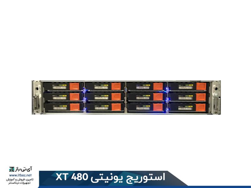 استفاده از درایوهای LFF در نمای استوریج یونیتی xt 480