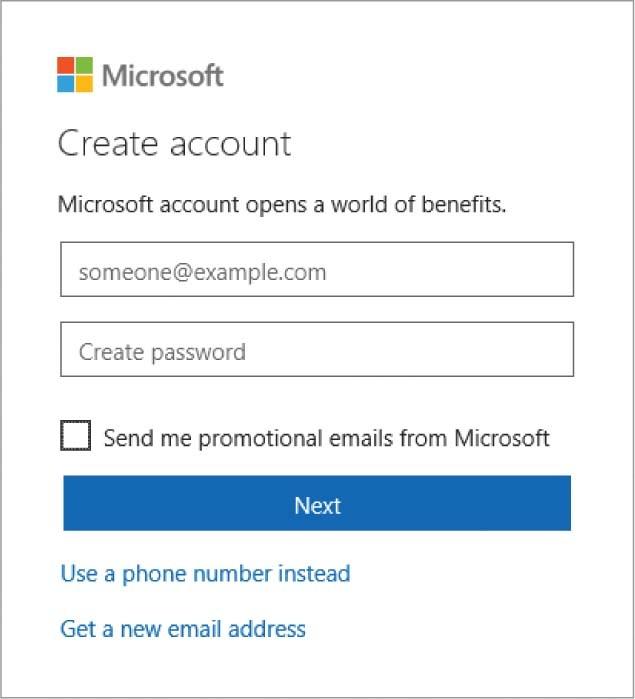 ورود به حساب کاربری در ویندوز 10