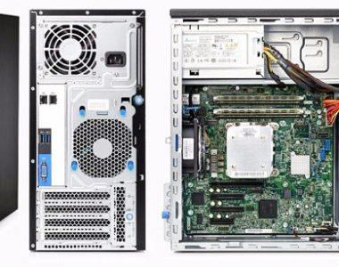 نگاه کلی به سرور اچ پیHPE Proliant ML10 Gen9 Mini Tower Server